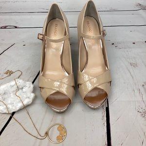 Franco Sarto patent leather heels